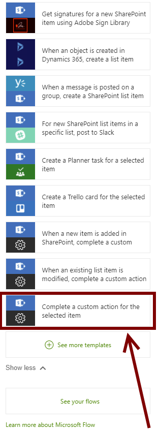 How to trigger Microsoft Flow in SharePoint List - Michał