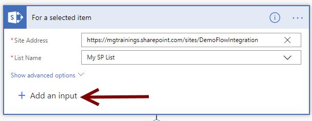 How to trigger Microsoft Flow in SharePoint List - Michał Guzowski